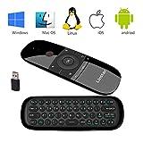 2,4 GHz Air Mause Wireless Mini Tastatur mit Maus Spiel Griff Android Fernbedienung Für Kodi TV Box Windows Android TV Box PC Gyro Sensing