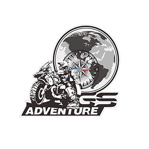 Panniers Luggage Aluminium Stickers Deca for BMW R1200GS F850GS F800GS R1250GS F750GS R1150GS G310GS R 1200 F800 GS Adventure Mei Racing (Color : B)