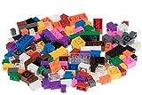 Strictly Briks - Set de Ladrillos de construcción - 156 Piezas de 12 Colores Diferentes - Piezas Sueltas - Compatible con Todas Las Grandes Marcas