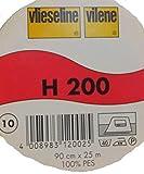 leichte Einlage H 200 von Freudenberg 90 cm breit weiß