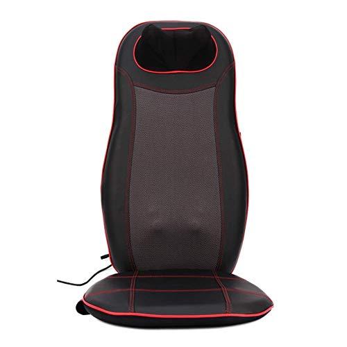 NBVCX Parti meccaniche Cuscino per massaggiatore shiatsu con Poltrona per Massaggio Termico Massaggio con Vibrazione per impastare o rotolare sulla Schiena per Il Collo