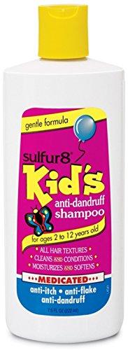 Sulfur8 Kids Medicated Anti Dandruff Shampoo, 7.5 Ounce