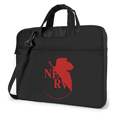 13 Inch Laptop Sleeve Bag, Neon Genesis Evangelion Tablet Briefcase Ultra Portable Protective Shoulder Shockproof Laptop Sleeve Case Bag Cover MacBook Pro/MacBook Air/Notebook Computer