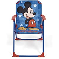 ARDITEX WD13009 Silla Plegable con Brazos de 38x32x53cm de Disney-Mickey
