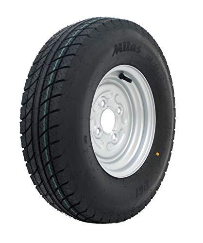 5.00-10 79M 6PR Komplettrad 135/145-10 Trailer Anhänger Reifen Rad Felge 3.50x10