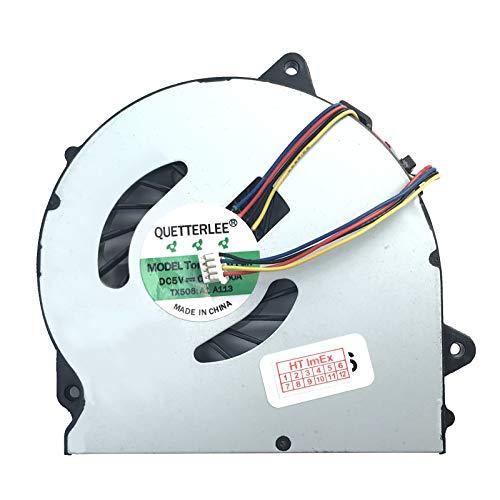 Lüfter/Kühler Fan kompatibel mit Lenovo IdeaPad G50-80 (80E5), G70-80 (80FF), Z50-75, Z50-80