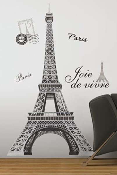EIFFEL TOWER BiG 56 Wall Stickers Mural PARIS Room Decor Vinyl Decals