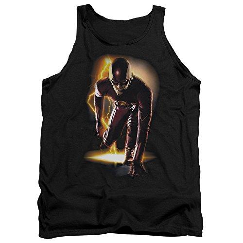 Débardeur Prêt pour hommes - Flash, Large, Black