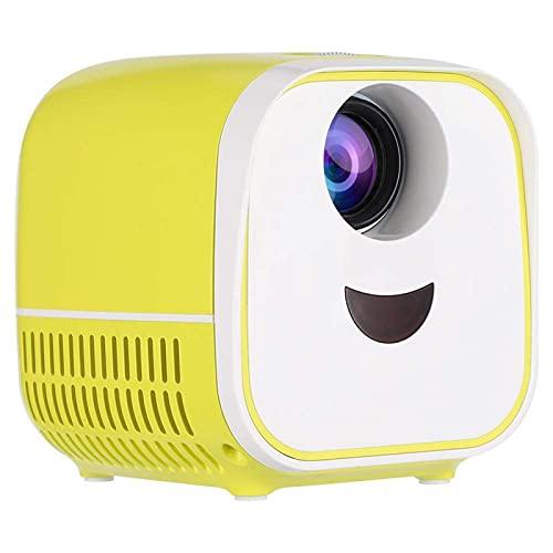 Videoproiettore a colori con altoparlante integrato proiettore giocattolo Interfacce multiple per chip Android per versione del sistema operativo Android(Transl)