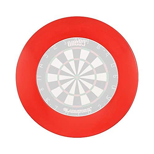 one80 professional perfection Dart schutzring, Dartscheiben Schutz für die Wand, Dart sourrounding Anzug für 45-Zentimeter Dartscheibe Rot