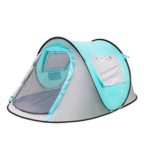 Camping Tent Backpacking Tent 2 Personen Volledig Automatische Camping Tent Winddicht Waterdicht Outdoor Reizen Zonnekap Canopy (245 * 150 * 105Cm)