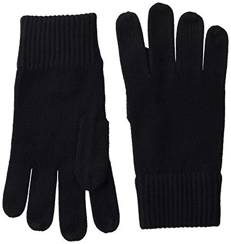 Tommy Hilfiger Herren PIMA Cotton Gloves Handschuhe, Schwarz (Black Bds), One Size (Herstellergröße:OS)