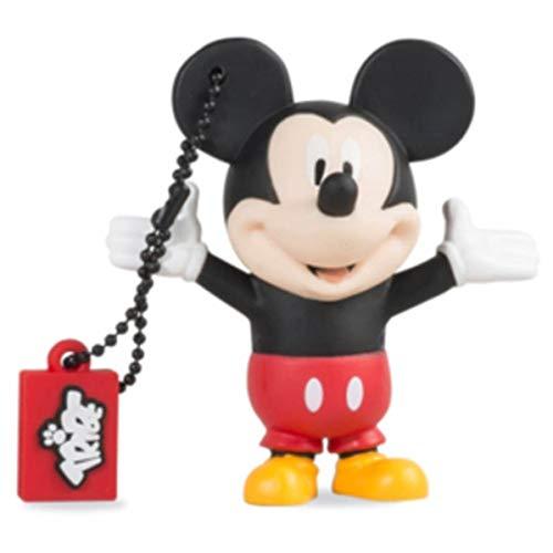 Chiavetta USB 16 GB Mickey Mouse - Memoria Flash Drive 2.0 Originale Disney, Tribe FD019502