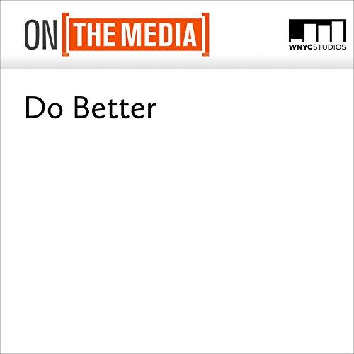Do Better audiobook cover art