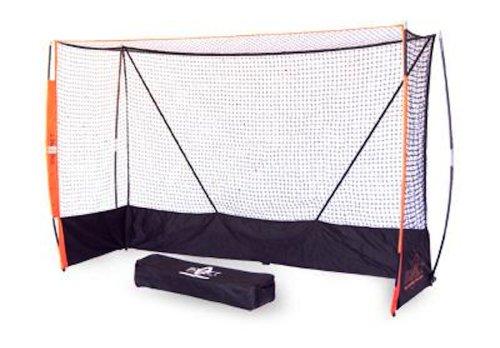 Bow Net Portable Indoor Field Hockey Net, 6-Feet 6-Inch x 9-Feet 9-Inch x 3-Feet 3-Inch