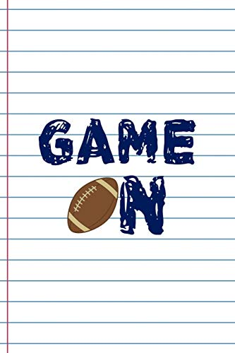 Game On: Coach Notebook Journal Composition Blank Lined Diary Notepad 120 Pages Paperback White