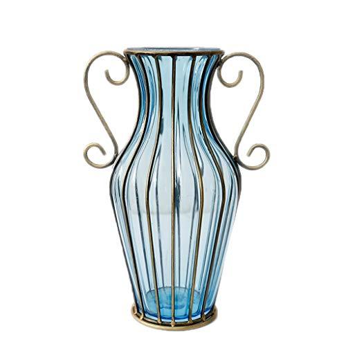 MTX Ltd Vase Jardiniere Creative Novel Wohnzimmer Glas Gypsophila Blumengesteck Tisch Couchtisch für Schlafzimmer Wohnzimmer Büro Studie