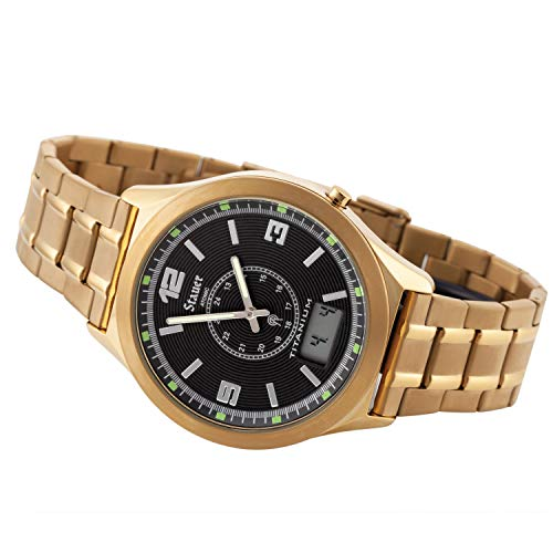 Stauer Men's Atomic Watch (Gold Finished)