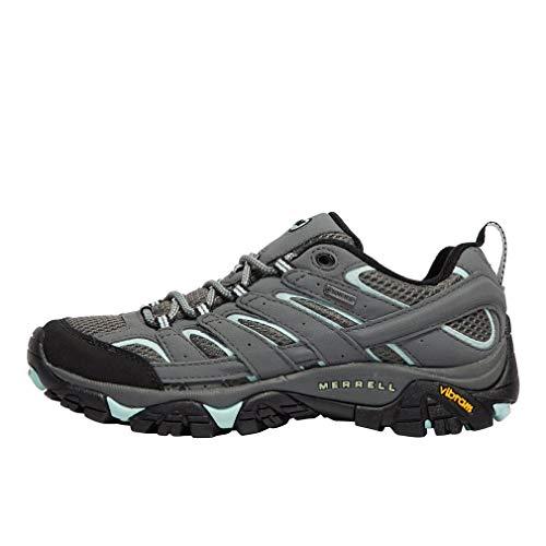 Merrell Moab 2 GTX, Zapatillas de Senderismo para Mujer, Gris (Sedona Sage), 38.5 EU
