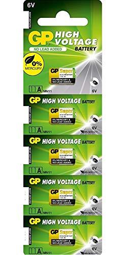 GP Batteries Super Alkaline GP11A-C5Alkali 6V Batterie
