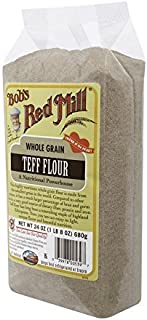 Bob's Red Mill Whole Grain Teff Flour, 24-Ounce Packages (Pack of 1)