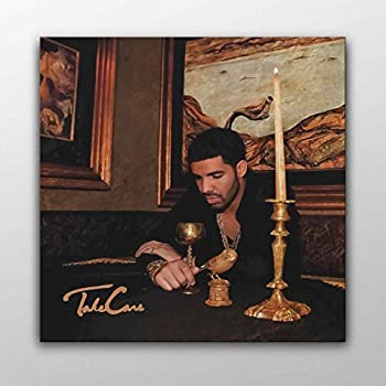 Drake - take Care Album Cover Canvas Poster Wall Art Printed Home Decor Modern Print Gift Idea  50cm x 50cm
