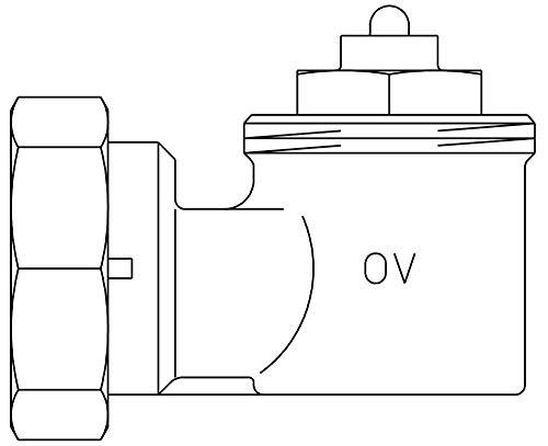 Oventrop Winkeladapter/Schraubverbindung M30 x 1,5 mm