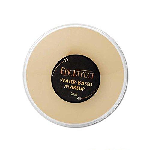 Maquillaje polvo compacto base agua Zombie