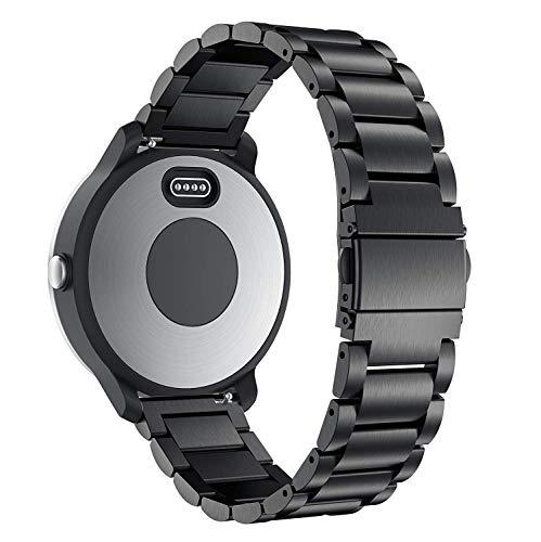 TOPsic Correa para Garmin Vivoactive 3 Correas, 20mm Pulsera Reemplazo Silicona Correa para Vivoactive 3/Vivomove HR/Forerunner 645 Music/245 /Galaxy Watch 42mm/Galaxy Watch Active/Gear S2 Classic