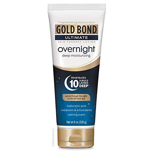 Gold Bond Ultimate Overnight Deep Moisturizing Lotion, 8 Oz Tube