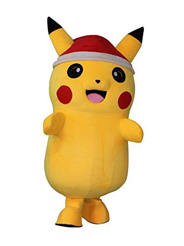 Sinoocean Pikachu Pokemon - Disfraz de Halloween, diseño navideño ...