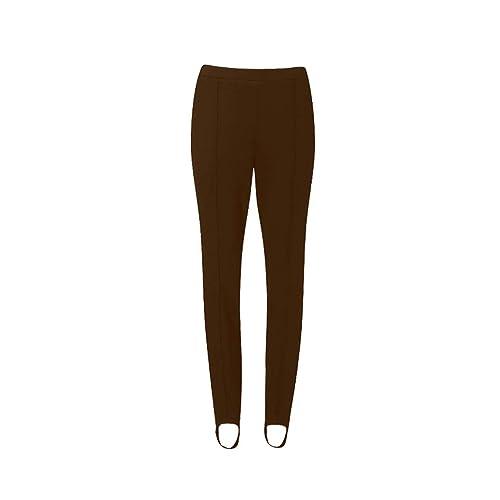 65fa18457b72f MISS 'N' MAM New Ladies Womens Pull On Ski Pants Elasticated Stirrup  Trousers Plus