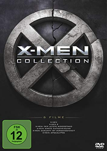 X-MEN 1-6 BOXSET Region Code 2 [6 DVDs]