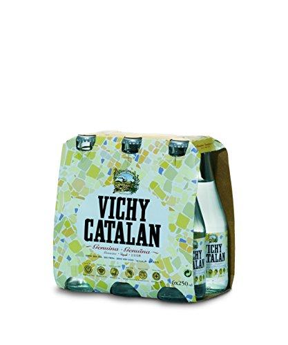 Vichy Catalan kohlensäurehaltiges Wasser Glassflaschen 6x25cl (Pack 6 Flaschen)