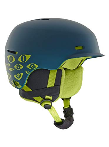 Anon Jungen Flash Snowboardhelm, Eye Dark Blue, SM