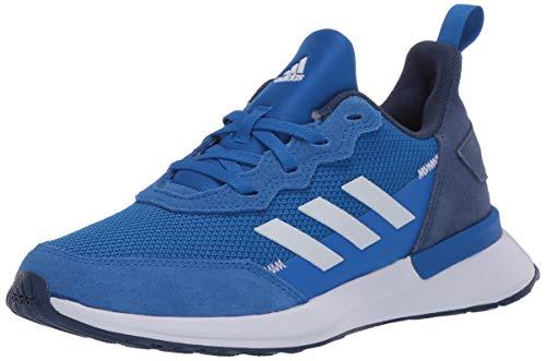 adidas Kids Unisex's RapidaRun Elite Running Shoe, Glory Blue/FTWR White/Tech Indigo, 3.5 M US