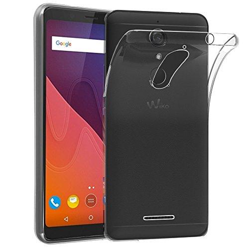 ebestStar - kompatibel mit Wiko View Hülle View 16GB 32GB Handyhülle [Ultra Dünn], Premium Durchsichtige Klar TPU Schutzhülle, Soft Flex Silikon, Transparent [Phone: 151.5 x 73.1 x 8.7mm, 5.7'']