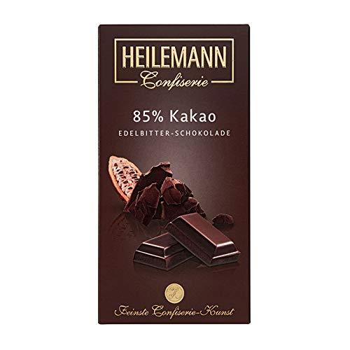 Heilemann 85% Kakao Edelbitter-Schokolade, 100g