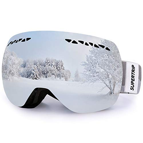 Supertrip Professional Ski Goggles for Men and Women Double Lens Anti-Fog...