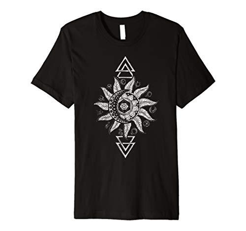 Alchemy Horoscope Moon Tarot T-shirt Astrological signs Gift