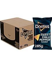 Doritos Tortilla Chips Sweet Chilli Pepper, Doos 10 stuks x 185 g