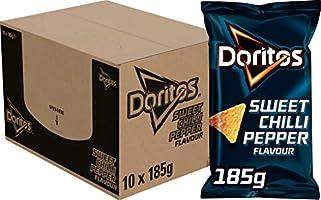 Doritos X Playstation 5 Tortilla Chips Sweet Chilli Pepper, Doos 10 Stuks X 185 G, 8710398515780