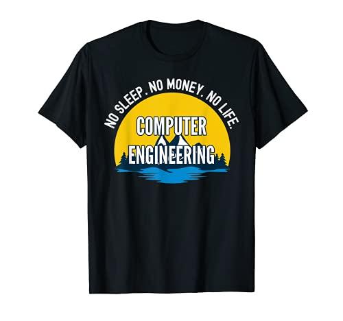 No Sleep No Money No Life Ingeniería Informática Tecnología St Camiseta