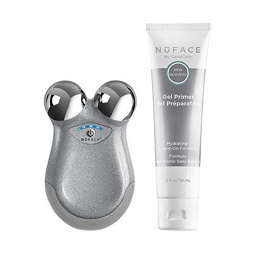 NuFACE NuFACE Mini Petite Facial Toning Device, Mini Device + Hydrating Leave-On Gel Primer, 1 ct.