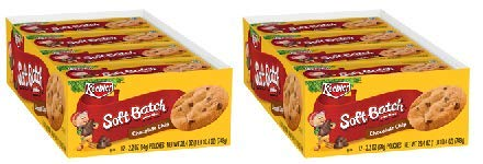 Keebler Soft Batch Chocolate Chip Cookies, 2.2 Oz., 12 Count (Pack of 2)