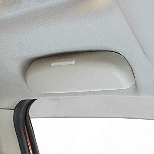 JHZQK Estuche para Gafas de Coche, para BMW F30 E46 se Adapta a la mayoría de los Coches Caja de Soporte para Gafas de Sol para Coche Estuche de Almacenamiento para Gafas-Negro
