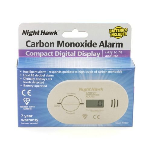 Kidde 5DCO/0230/Nighthawk/NHDCO/DCO/ Premium Range Kohlenmonoxid Alarm Mit Digital Display