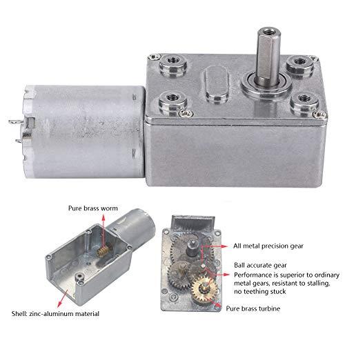 Motor de Gusano con Mayor Capacidad de Carga DC 6V Turbina Turbo Gusano para cerraduras electrónicas para Equipos de Pesca(10, Pisa Leaning Tower Type)