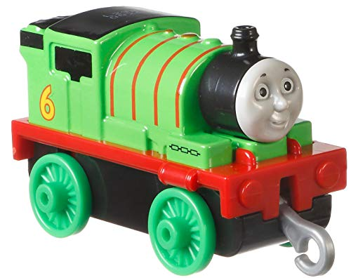 Thomas & Friends Trackmaster Small Push Along Die-Cast Metal Train Asssortment, Percy -  Fisher-Price, GLL74