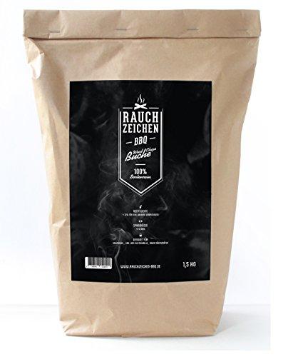 Rauchzeichen-BBQ Wood Chips, Buche, 1.5 kg Räucherchips für Grill und Smoker